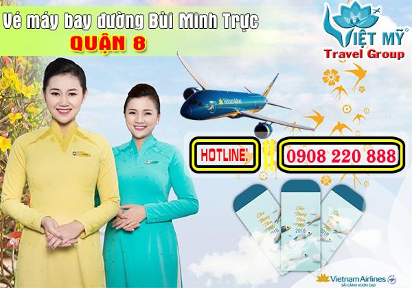 Vé máy bay đường Bùi Minh Trực quận 8 - Phòng vé Việt Mỹ