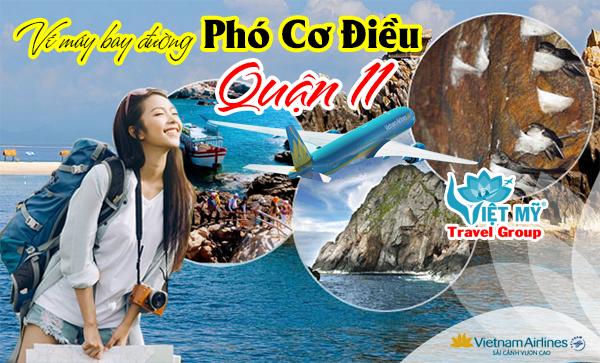 Vé máy bay đường Phó Cơ Điều quận 11 - Phòng vé Việt Mỹ