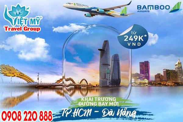 Bamboo Airways chào mừng đường bay mới từ TPHCM - Đà Nẵng
