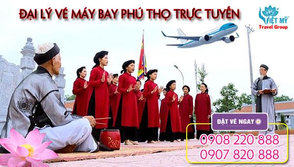 Đại lý vé máy bay Phú Thọ trực tuyến