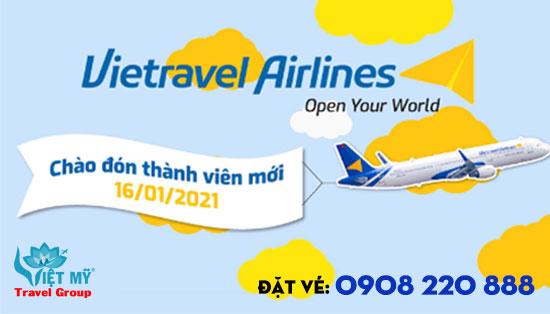 Vietravel Airlines chào đón tàu bay thứ 2