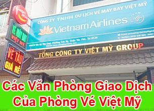 phòng giao dịch vé máy bay Việt Mỹ